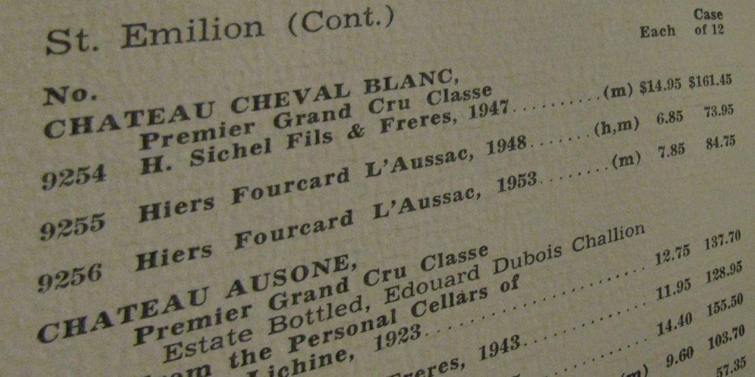Het samenstellen van een wijnkaart, stock en marges ism Frank Jacobs